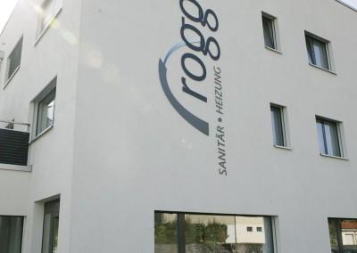 Fassaden-Beschriftung Rogger Ruswil