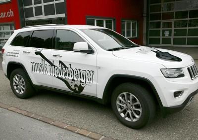 Autobeschriftung Musik-Niederberger